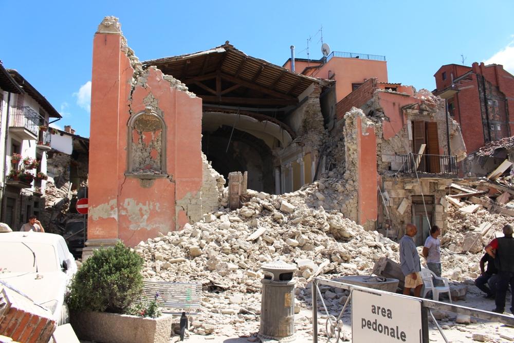 Amatrice 24 agosto 2016 ore 3.36 il terremoto