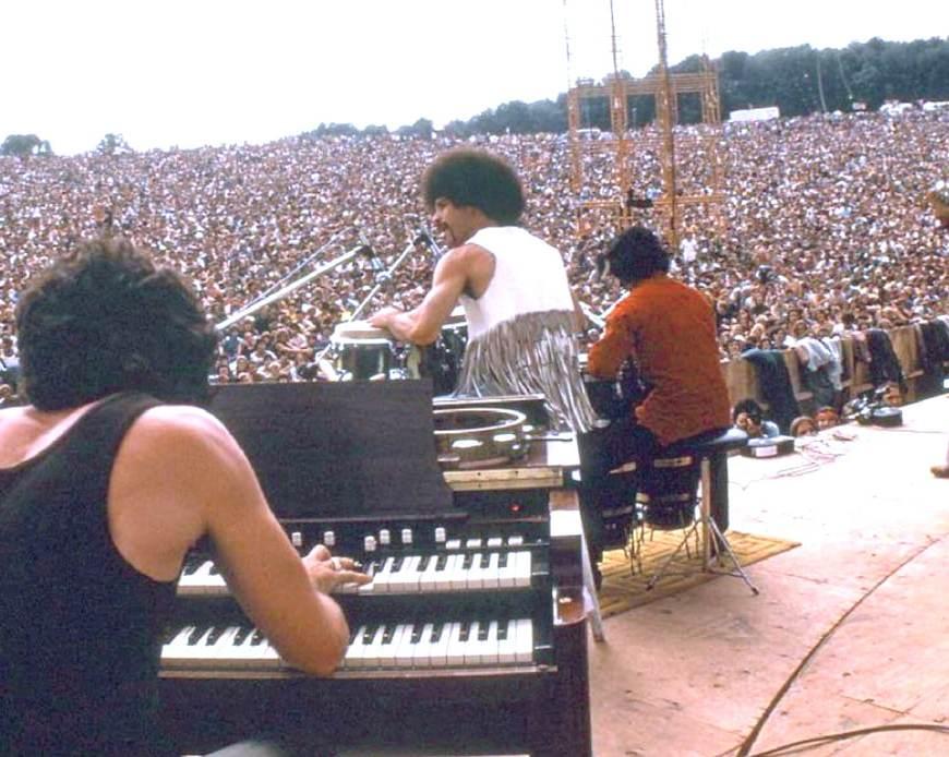 Woodstock: 50 anni fa Santana